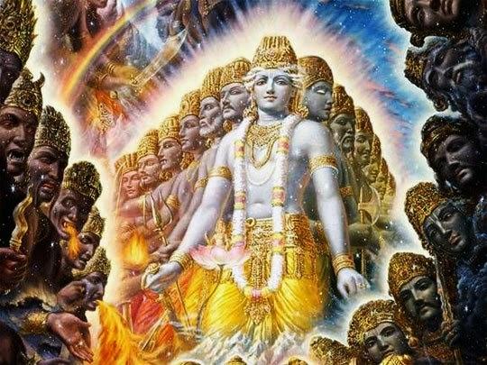 Lord Krishna Vishwaroop Virat Swaroop (1)