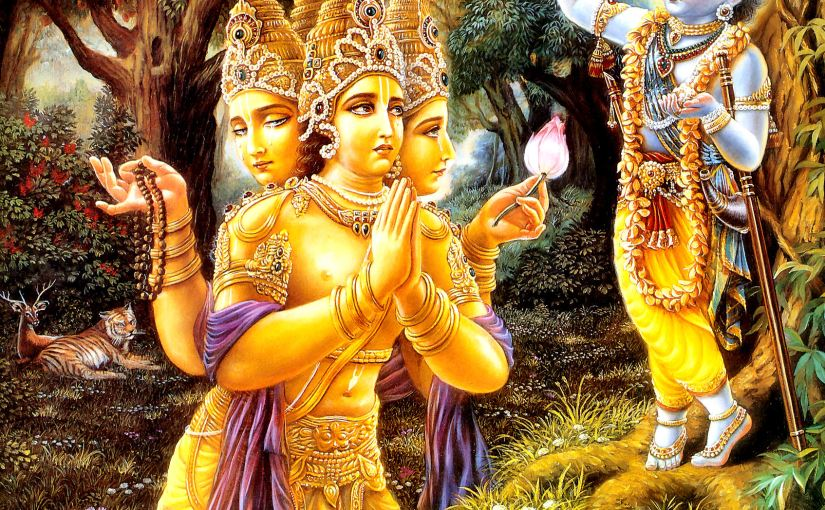 Krishna Vs Brahma-Tale of Self Realization